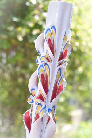 Lumanari Nunta Sculptate Diverse Culori Modele Si Dimensiuni